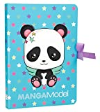 Depesche 6583 - Notizzettel, Notes to Go Manga Model, Panda