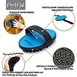 Fell-Pflege Gummi-Striegel von PetPäl für Hunde & Katzen mit Massage-Effekt in Salon Qualität - 2