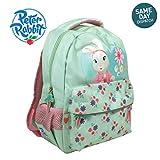 Peter Rabbit & Friends Lily Bobtail Backpack Mint Green Rucksack Adventurer Beatrix Potter BBC