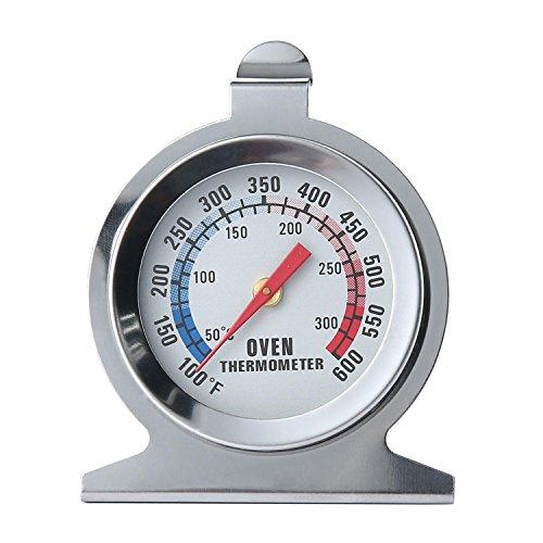 Teepao Toaster Ofen-Thermometer,-Edelstahl-Thermometer für Damen, Küche, Perlmutt -