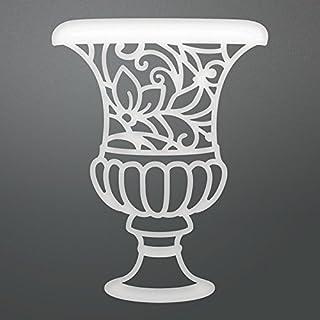 Couture Creations Enchanted Vase Die, Metal, Black, 20.1 x 14.2 x 0.7 cm