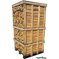 Möbel & Wohnen Holzkorb W-form Stahl Schwarz Für Scheitholz Tiefe 40 Cm Klein- & Hängeaufbewahrung