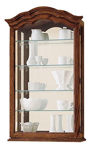 Howard Miller 685–102Vancouver II Curio Unterschrank von (Cabinet Curio Decor Home Glas)