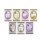 #5: EasyBuy India Lemon : 5Pcs Scented Fragrance Home Wardrobe Drawer Car Perfume Sachet Bag Mini Pouch