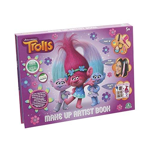 Trolls - Make up artist book, estuche de maquillaje