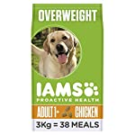 IAMS for Vitality Adult Dog Food Light in Fat with Fresh Chicken, 3 kg[Old Model] 4