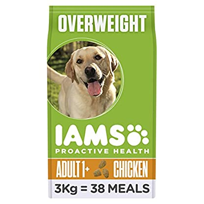 IAMS for Vitality Adult Dog Food Light in Fat with Fresh Chicken, 3 kg[Old Model] 1