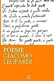 Scarica Libro Poesie G Leopardi (PDF,EPUB,MOBI) Online Italiano Gratis