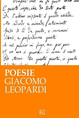 Poesie. G. Leopardi