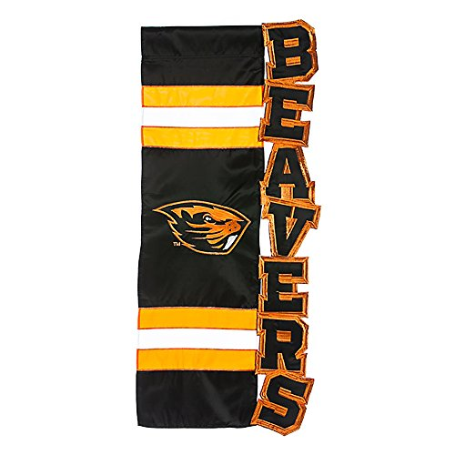 Evergreen NCAA modellierte Buchstaben Garten Flagge, Oregon State Beavers -