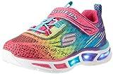 Skechers S Lights: Litebeams, Zapatillas para Niñas, Multicolor (Mlt), 34 EU