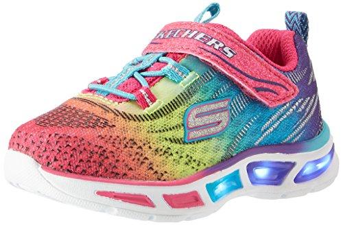 Skechers Mädchen Litebeams Sneakers, Mehrfarbig (MLT), 30 - Skechers Mädchen Lichter