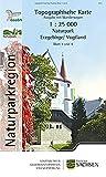 Naturpark Erzgebirge /Vogtland. Naturparkkarte 1:25000, NP25 Doppelblatt 3/4, Westerzgebirge: Eibenstock, Carlsfeld, Schwarzenberg, Geyer, Scheibenberg, Annaberg-Buchholz, Oberwiesenthal