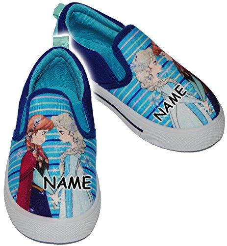 """alles-meine.de GmbH Canvas Schuhe / Sneaker - Größe 31 - \"""" Disney Frozen - die Eiskönigin  - Incl.."""