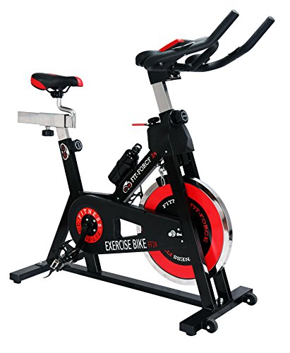 Bici spinning Fit-Force con volante de inercia