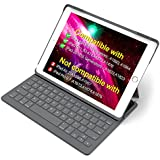 "Inateck iPad Keyboard Case for 9.7"" iPad 2018(Gen 6)/iPad 2017(Gen 5) and iPad Air 1 with intelligent magnetic switch iPad keyboard cover,Dark Grey"