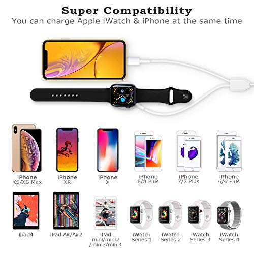 iPhone Ladekabel UNBREAKcable Lightning Kabel - Syncwire [Apple MFi Zertifiziert] Lightning Ladekabel für iPhone X 8/8 Plus 7/7 Plus 6S/6S Plus 6/6 Plus 5S 5C 5, iPad Mini 2 3 4, iPad 4-20cm Weiß