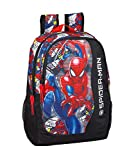 Spiderman 'Super Hero' Oficial Mochila Escolar 320x160x440mm