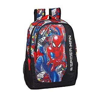 Spiderman «Super Hero» Oficial Mochila Escolar 320x160x440mm