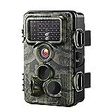 Camera de Surveillance VicTsing Caméra de Chasse Imperméable IP66 Étanche 12MP 1080P HD, Caméra de Jeu Nocturne Infrarouge pour Sécurité à Domicile, Surveillance de la Faune, etc