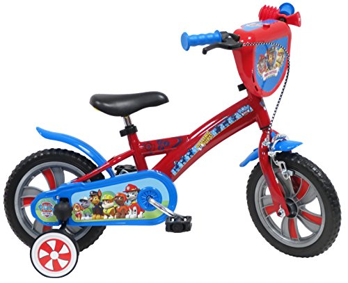 "EDEN-BIKES - Bicicleta Infantil de la Patrulla Canina, Multicolor, 14"""