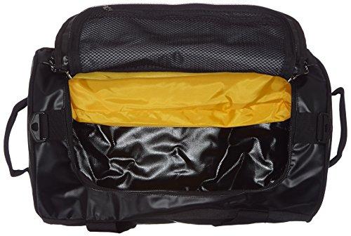Mountain Equipment Unisex Rucksack Wet und Dry Kitbag Tasche Black/Silver Logo