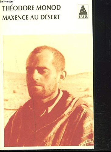 Maxence Au Desert [Pdf/ePub] eBook