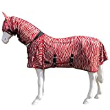 Best On Horse BOH 0g Print Full Fixed Combo Neck Breathable Summer Sheet Mesh Turnout Fly Rug