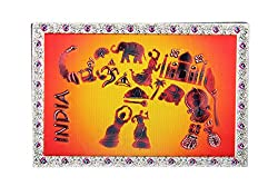 Adaa Foil Magnet Elephant design