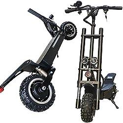 HBC Creative Fashion 3200W Adulto Scooter Eléctrico Plegable Velocidad Ajustable Bicicleta Eléctrica 35100Km Batería de Largo Alcance con Pantalla