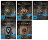 Blu-ray Steelbook Set * Game of Thrones Season / Staffel 1+2+3+4+5 (1-5) / Alle 5 mit Magnet Siegel