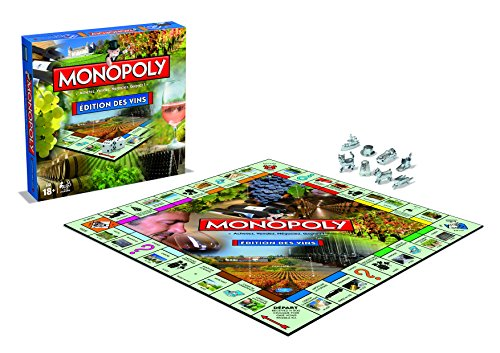 Winning Moves - Monopoly Des vins, 0421