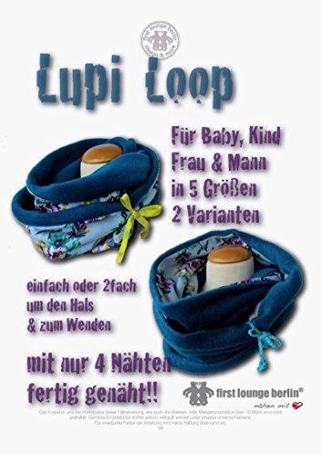 Fertige Mode (Lupi Loop Wendeschlauchschal: Lupi Loop ist für die ganze Familie ! Einfach oder 2fach um den Hals und zum Wenden! Dieser Schal ist mit nur 4 Nähten fertig genäht...!!!)
