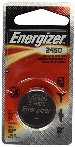 Energizer CR2450 Lithium Battery, 3v ECR2450, 12 PK Size: 12 Pack, Model: , Gadget & Electronics Store Security Garage Door Opener