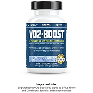VO2-BOOST Endurance Supplement Compare to Optygen HP(120 counts) by BRL
