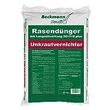 25 kg Rasendünger mit Unkrautvernichter (830m²) Langzeitwirkung Beckmann Profi