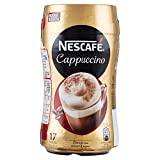 Nescafé Cappuccino Preparato Solubile in Polvere con Caffè e Latte - 17 Tazze