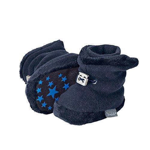 Sterntaler Unisex Baby Klassische Stiefel, Blau (Marine 300), 17/18 EU