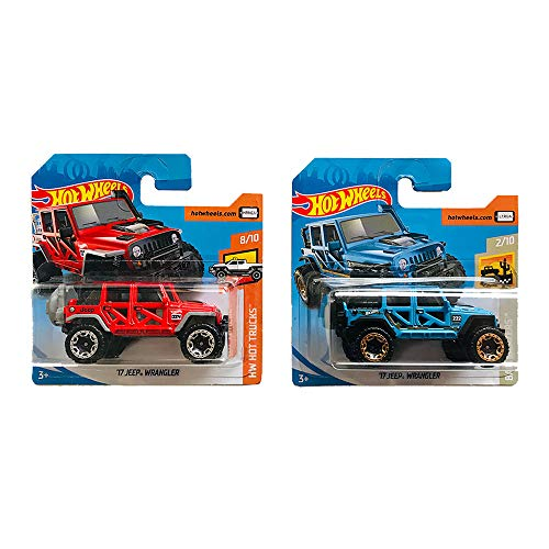 Hot Wheels '17 Jeep Wrangler HW Hot Trucks & Baja Blazers Pack 2
