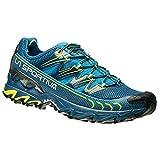 LA SPORTIVA - ULTRA RAPTOR - SCARPA UOMO OUTDOOR - MOUNTAIN TRAIL RUNNING FOOTWEAR - BLUE / SULPHUR (46,5)