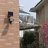 PestExpel 60 Super Bright LED Rechargeable Solar Power Motion Sensor Security Light Outdoor Garden