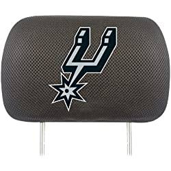 Fanmats NBA San Antonio Spurs poliéster cabeza resto funda