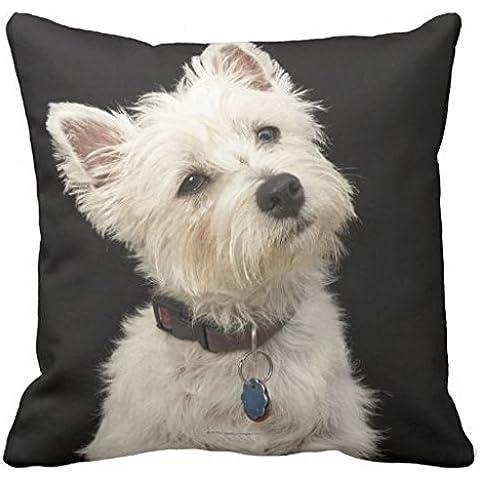 Westie Occidente Highland Terrier con collo