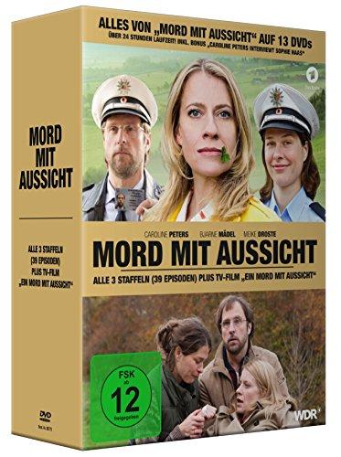 Mord mit Aussicht, Alle 3 Staffeln plus TV-Film Ein Mord mit Aussicht (13 DVDs)