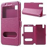 jbTec® Flip Case Handy-Hülle zu Huawei ShotX / Honor 7i -