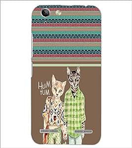 PrintDhaba Cats D-2755 Back Case Cover for LENOVO VIBE K5 PLUS (Multi-Coloured)