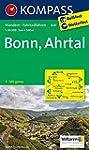 Bonn - Ahrtal: Wanderkarte mit Radrou...