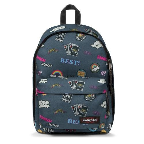 Eastpak Out Of Office Zaino, 27 L, Multicolore (All Patched)