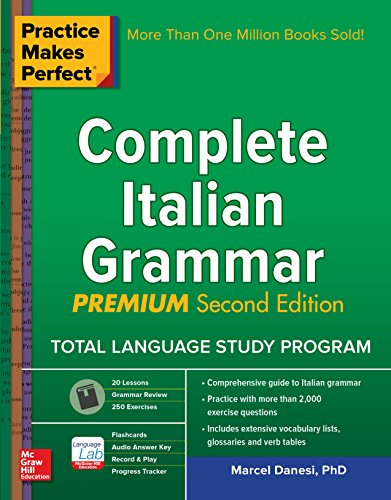 Practice Makes Perfect: Complete Italian Grammar, Premium Second Edition (English Edition)