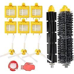 efluky remplaçant Brosse Kit Pièces accessoires pour iRobot Roomba série 700 760 761 765 770 772 776 780 785 786 790-Un Kit de 13